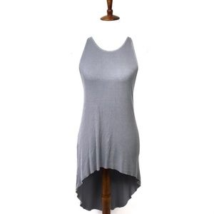 Truly Madly Deeply hi low ribbed tank dress Sz XS